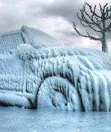 машина во льду